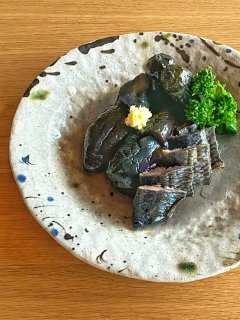 伝統製法 北海道産身欠き鰊(にしん)と茄子炊いたん