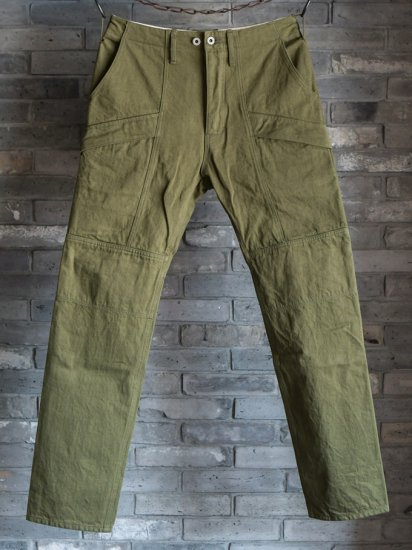 GERUGA/HIDDEN POCKET PANTS-DENIM-