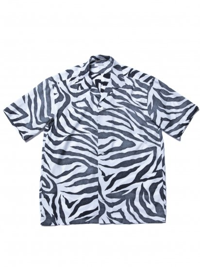 ROTTWEILER/Tiger Open Collar SS Shirts