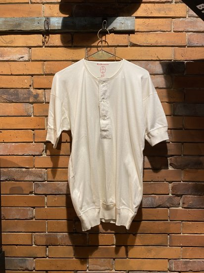 OLDE HOMESTEADER/HENRY NECK SHORT SLEEVE(IVORY)