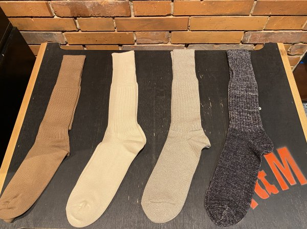 OLDE HOMESTEADER/HEAVY WEIGHT SOCKS Plain RIB