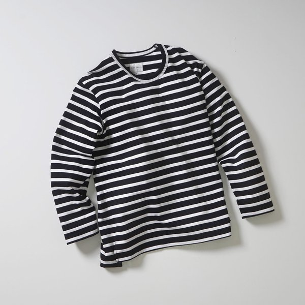 CURLY/SALFORD L/S BORDER TEE