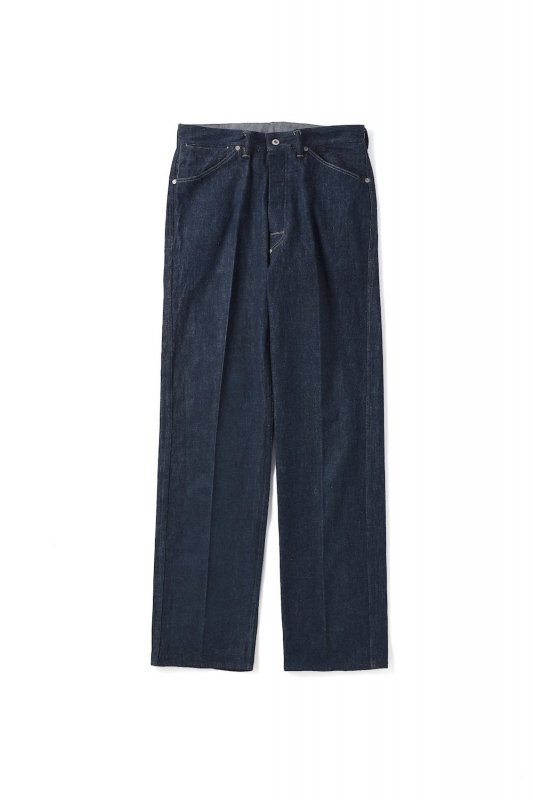 <img class='new_mark_img1' src='https://img.shop-pro.jp/img/new/icons1.gif' style='border:none;display:inline;margin:0px;padding:0px;width:auto;' />OLD JOE/PLEATED JEAN TROUSER