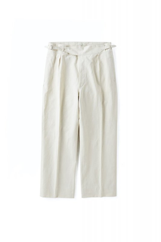 <img class='new_mark_img1' src='https://img.shop-pro.jp/img/new/icons1.gif' style='border:none;display:inline;margin:0px;padding:0px;width:auto;' />OLD JOE/SIDE BUCKLE GRUKHA TROUSER