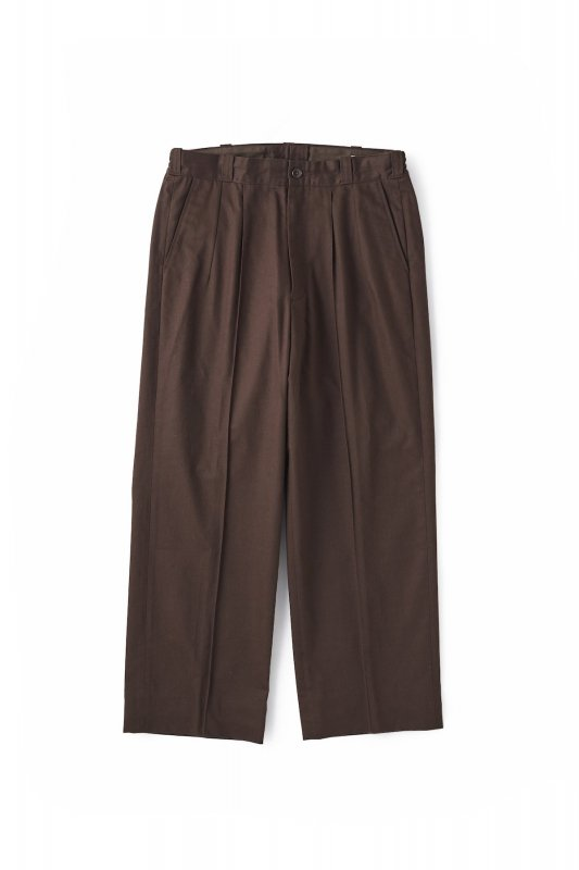 <img class='new_mark_img1' src='https://img.shop-pro.jp/img/new/icons1.gif' style='border:none;display:inline;margin:0px;padding:0px;width:auto;' />OLD JOE/FRONT TUCK ARMY TROUSER
