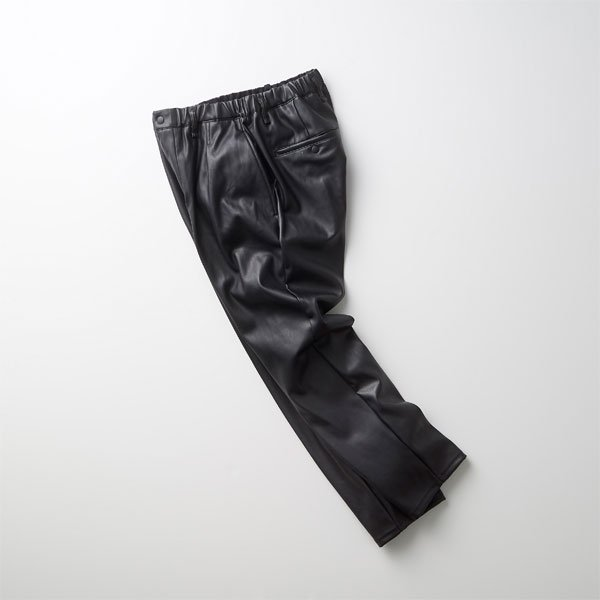 """<img class='new_mark_img1' src='https://img.shop-pro.jp/img/new/icons1.gif' style='border:none;display:inline;margin:0px;padding:0px;width:auto;' />CURLY/REGENCY EZ TROUSERS """"Synthetic leather"""""""