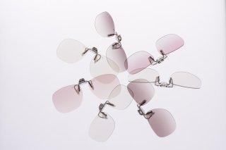 オールタイムサングラス ライトクリップSP ピンク Oサイズ