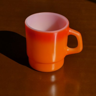 Vintage Stacking Mug / Fire King