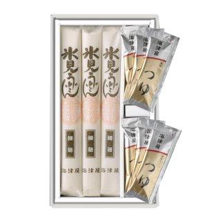 細麺3本・つゆ6袋セット