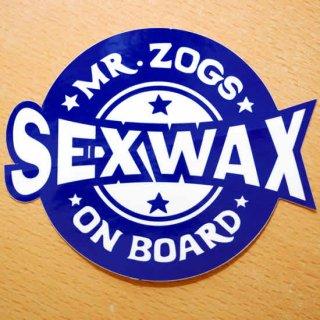 SEX WAXステッカー【Sexwax】
