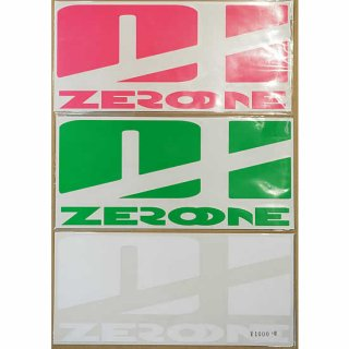 ゼロワンステッカー【ZERO ONE WETSUITS】01タイプ