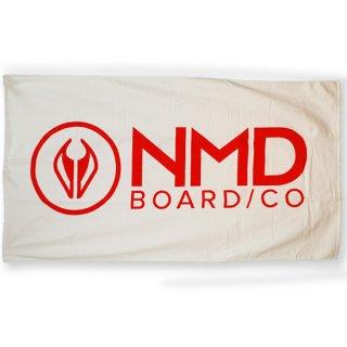 NMDオリジナルタオル ホワイト【NMD】146×83cmの大判スポーツタオル