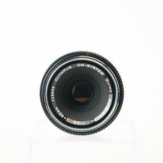【AB】OM-SYSTEM  ZUIKO AUTO-MACRO 50mm f3.5 標準マクロレンズ オールドレンズ