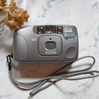 【C】RICOH MyPORT ZOOM mini シルバー[実写済み]