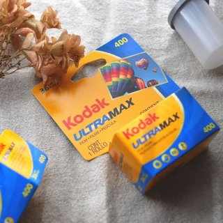 KODAK カラーネガフィルム ULTRA MAX  ISO400 36枚撮り 《カメラ・レンズと同時購入で送料無料》
