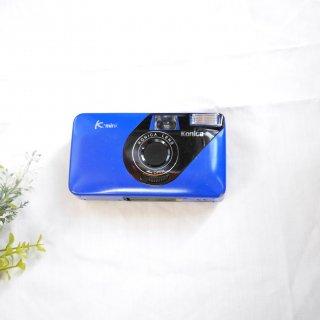 【C・特価品】KONICA K-mini BLUE[実写済み][ 使い方がわかる ]