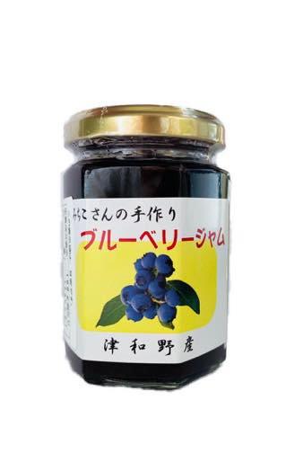 中島さんの手作りブルーベリージャム