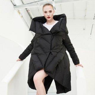 ダウンコートレディース  ロング 大きいサイズ 40代 黒 ペディン ダウンジャケット 上着 レディース アウター 秋冬 軽量 冬物 暖かい 人気