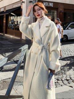 レディース アウター コート ロングコート 冬 ロング冬 30代 40代 きれいめ 上品 チェスターコート ベージュ かわいい おしゃれ ウエストマーク 通勤