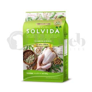 ソルビダ SOLVIDA オーガニック 室内飼育体重管理用 オーガニックチキン 3.6kg 穀物不使用 グレインフリー