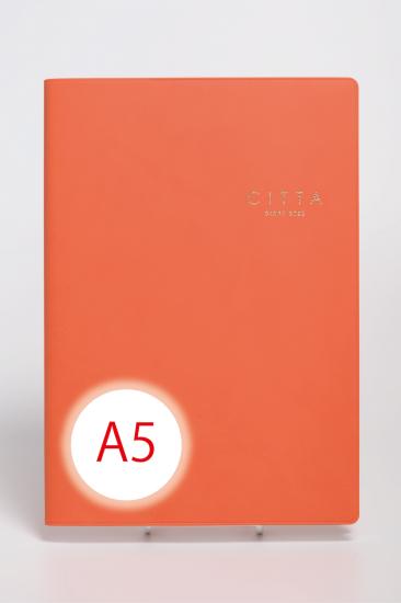 CITTA手帳<br/>2022年度版(2021年10月始まり)<br/>A5 マンダリンオレンジ