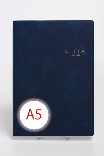 CITTA手帳<br/>2022年度版(2021年10月始まり)<br/>A5 インディゴネイビー
