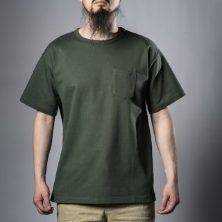 Heavy Weight Pocket Tee Olive