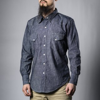 BONCOURA Western shirt chambray