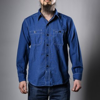 BONCOURA ワークシャツベタシャン (work shirt ベタシャン)