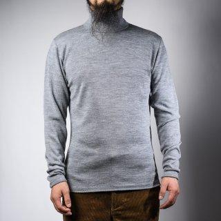 タートルネックセーター グレー  turtle neck sweater gray