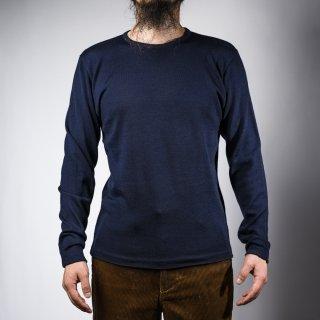 クルーネックセーター ネイビー  crew neck sweater navy