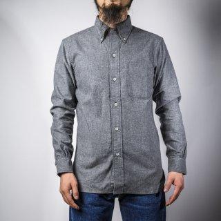BONCOURA BD シャツ コットンフラノ グレー BD Shirt Cotton Flannel Gray