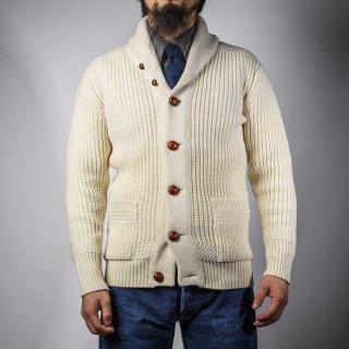 ショールカーディガン ナチュラル (shawl collar cardigan natural)