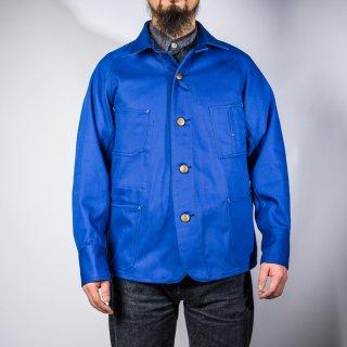 カバーオール イングリッシュツイル インクブルー (coverall English twill blue)