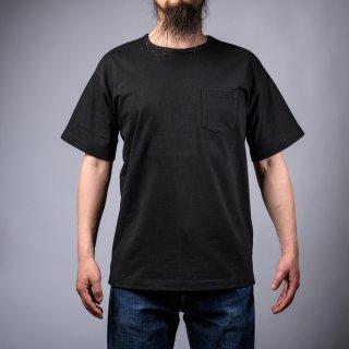 Heavy Weight Pocket Tee Black