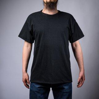 Reversible Tee Black × Black Loop Wheeled