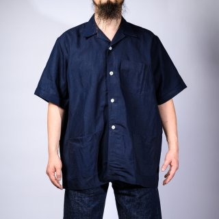 Shirt Jacket Indigo Linen