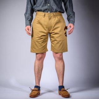 Painter short pants English twill khaki