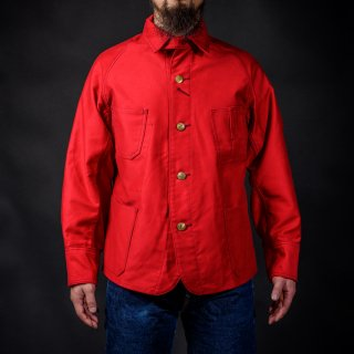 Coverall Moleskin Red