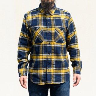 Work Shirt Flannel Yellow Tartan