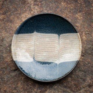 BONCOURA 丸皿 5寸 インディゴヒッコリー