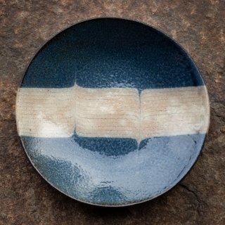 BONCOURA 丸皿  6寸 インディゴヒッコリー