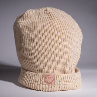 Knit Cap natural Wool