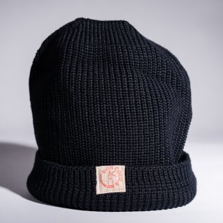 Knit Cap navy Wool