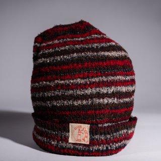 Knit Cap mix color Dead Stock Yarn