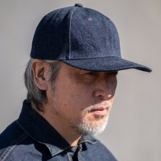 本藍 USネイビーキャップ デニム US Navy Cap Denim Natural Indigo 10th Anniversary Model