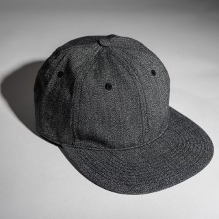 US Navy Cap Heather Black Chambray