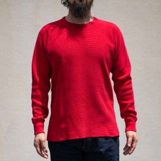 Heavy Weight Thermal Long Sleeves red