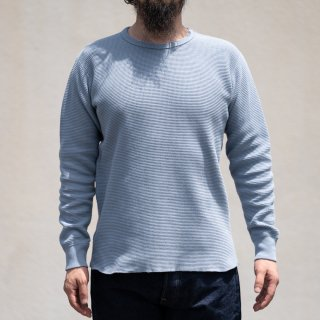 Heavy Weight Thermal Long Sleeves blue gray