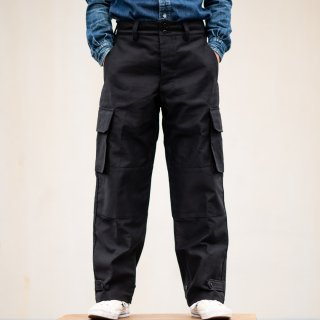 B-47 Cargo Pants Deck Cloth black